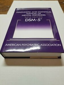 Diagnostic and Statistical Manual of Mental Disorders DSM-5 (HARDCOVER) Like new