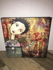 "The Kelly Rae Roberts Collection Canvas Print Remember  8"" x 8"""