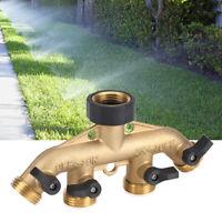 Connettori per rubinetto ugello per tubo a 4 vie per irrigazione del giardino