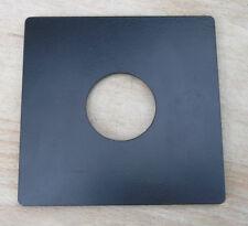 ebony style  Metal flat  lensboard for copal  0  98 x 96