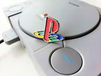 Playstation Logo Metal Enamel Pin - Display Collectible (PS1 PS2 PS3 PS4) USA