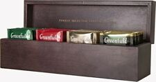 Gift Set Wooden Box Greenfield NEW YEAR SELECTION Tea Set In Bags 4 Types