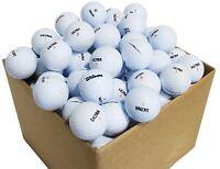 10 Dozen Ultra Assorted AAAAA Recycled Golf Balls + FREE TEES