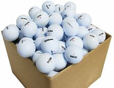 10 Dozen Ultra Assorted Near Mint Recycled Golf Balls + FREE TEES