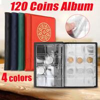 Collecting 120 Pockets World Coin Collection Storage Holder Money Album Book !