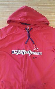 St. Louis Cardinals Youth Hoodie Jacket Juniors Medium 8-10 2009 All Star Game