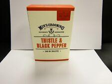 SCOTTISH FINE SOAPS - THISTLE & BLACK PEPPER EAU DE TOILETTE FOR MEN - EDT 100ml