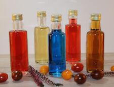 5 Leere Glasflaschen Dorica 100 ml für Essig Öl Sirup Likör Obstler Likörflasche