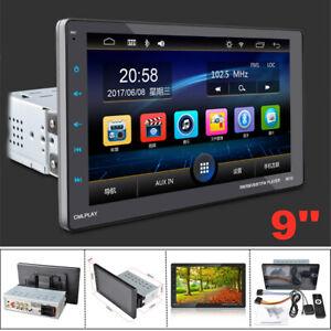 9'' HD 1080P Touch Screen Bluetooth AUX USB Car FM Radio Audio Video MP5 Player