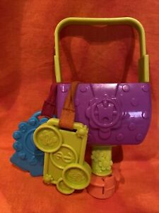 Evenflo Exersaucer Tea Party Interchangeable Replacement Part- Purse With Keys