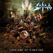 SODOM - EPITOME OF TORTURE LIMITED EDITION CD HEAVY/THRASH METAL NEUF