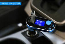 MP3 Player FM Transmitter Dual USB Charger LCD Display Car Kit for LG V30 V20 US