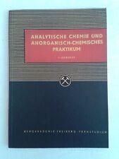 Analytische Chemie und anorganisch-chemisches Praktikum Bergbau 1.Lehrbrief 1960