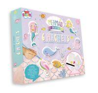 Mould & Paint Mermaid Fridge Magnets Make Your Own Plaster Sealife Kit MEMG