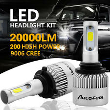 CREE COB 9006 HB4 9012 200W 20000LM LED Headlight Kit  Low Beam Power Bulb 6500K
