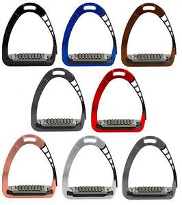 Acavallo ARENA AluPro Aluminimum Balance Safety Comfort Stirrup Irons Stirrups