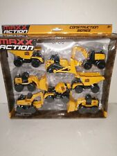 Maxx Action Construction Series Moving Parts New In The Box Unopened