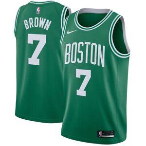 New 2021 Nike Boston Celtics Jaylen Brown #7 Icon Edition Swingman Jersey NWT