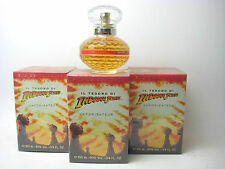 IL TESORO DI Indiana Jones for WOMAN (LOT OF 3) 3.4 oz Eau de Toilette Spray