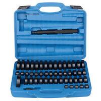 52Pc Custom Bushing Bearing Seal Driver Push Press Disc Tool Set 18-65mm