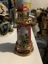 Thomas Kinkade 2004 The Light Of Peace Lighthouse
