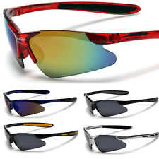 X-Loop Kids Children Toddlers AGE 2-12 Boys Sports Sunglasses Black Brown Silver