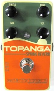 Used Catalinbread Topanga Spring Reverb Guitar Effects Pedal