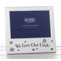 We Love Our Uncle Photo Frame Birthday Christmas Gift Present 73593