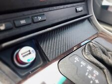 BMW E46 Front Ashtray Delete Plate - W/ USB Access - Carbon Edition