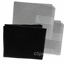 Cooker Hood Filters Kit for SMEG Extractor Fan Vent Carbon Grease Filter