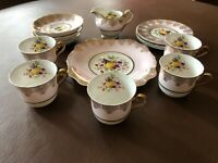Vintage Tuscan China Tea Set 18 piece