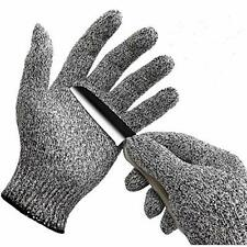 Wislife Cut Resistant Gloves - Safety Gloves for Cutting, Cooking (Large)