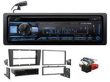 ALPINE Bluetooth CD Receiver USB/AUX SiriusXM Ready For 2000-2001 Audi A4/S4