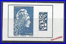 2018 - Marianne l'engagée Europe issu de carnet - Neuf**