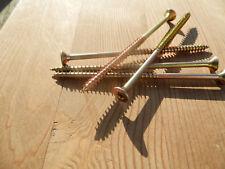 100 Holz-und Spanplattenschrauben 5 x 100 Teilgewinde Torx