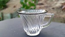 Crystal Diana Demitasse With Silver Trim  / Child  2 oz. Cup