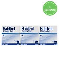Habitrol 4mg FRUIT Nicotine Gum - 1,152 pcs - 3 BULK Boxes - STOP Smoking NOW
