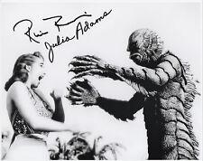 JULIA ADAMS RICOU BROWNING Signed 12x8 Photo CREATURE FROM THE BLACK LAGOON COA