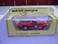 MATCHBOX MODELS OF YESTERYEAR ROLLS ROYCE(FIRE TRUCK)-Y6 & Y7