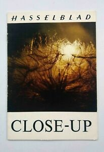 Hasselblad Close-up booklet