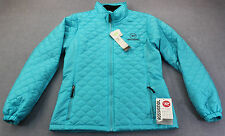 ROSSIGNOL MYTHIC Women BLUE LITEWEIGHT QUILTED PRIMALOFT SKI WINTER JACKET NWT L