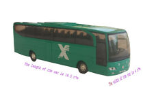 Israeli Egged Bus Mercedes Travego OC500 DieCast Toy Car 1:60 Pull Back Replica
