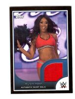 WWE Alicia Fox 2016 Topps RTWM Event Used Shirt Relic Card SN 15 of 350