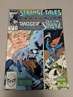 Strange Tales Featuring Cloak & Dagger & Dr. Strange #11 Feb 1988 Marvel Comics