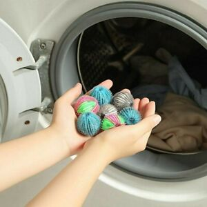 Magic Pet Hair Removal Laundry Ball Grabbing Lint Fluff  6Pcs