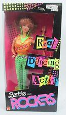 Vintage 1986 BARBIE & THE ROCKERS DIVA Barbie Doll #3159 Real Dancing Action