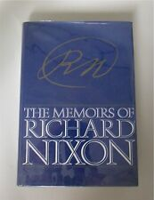 The Memoirs Richard Nixon, Signed Autographed Christmas Gift 1978 FIRST EDITION