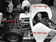 Roy Salvadori FORD GT40 LE MANS TEST 1 APRILE 1964 Fotografia
