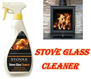 New Stovax Glass Cleaner Spray Stove Aga Rayburn Oven Door Glass Cleaning 500ml