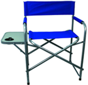 Texsport Directors Steel Chair with Table